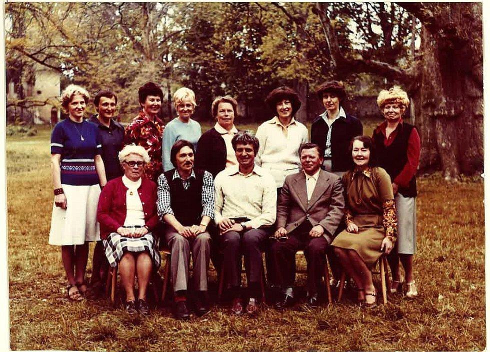 Učitelský sbor 1980.