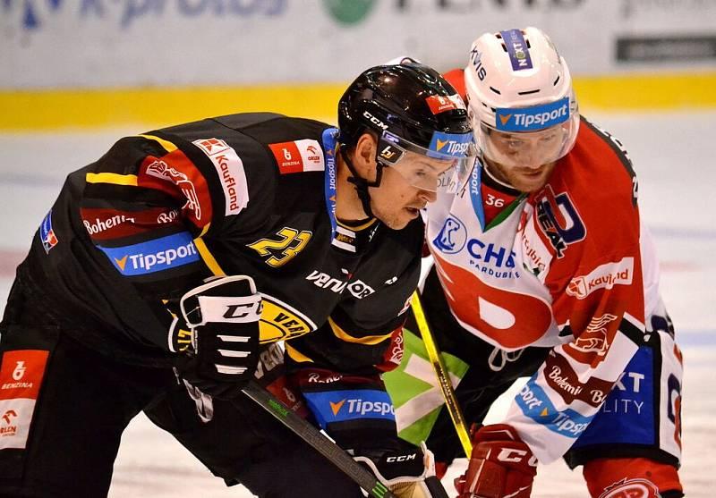 HC Verva Litvínov hostil v 6. kole extraligy na svém ledě Dynamo Pardubice.