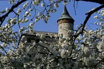 Jaro přišlo i pod Kunětickou horu