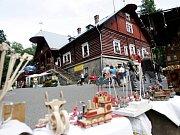 Řemeslné trhy na hradu Kunětická hora