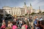 Dny evropského dědictví v Pardubicích. Po historických skvostech města provázel zájemce historik František Šebek.