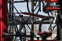 Cyklověž u pardubického nádraží