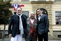 HLAVNÍ HVĚZDY Operního galakoncertu budou Giovanni B. Palmieri, Tiziano Barbafiera a Ennio Capece.