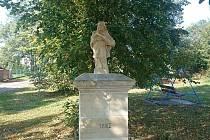 Ukradnou sochu svatého Jana Nepomuckého nahradila nová.
