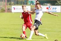 Česká fotbalová liga, skupina B: FK Pardubice B - TJ Sokol Živanice.