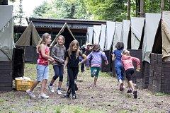 Letní dětský tábor, ilustrační snímek.