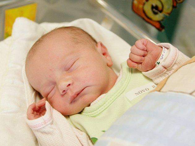 Tereza Pániková - první miminko narozené na Pardubicku v roce 2013