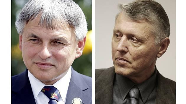 Jiří Kunát a Ladislav Nermuť (vpravo).