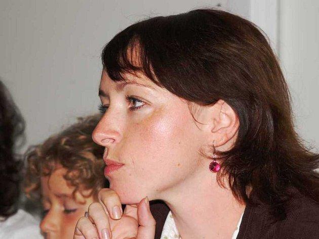 Herečka Tatiana Vilhelmová.
