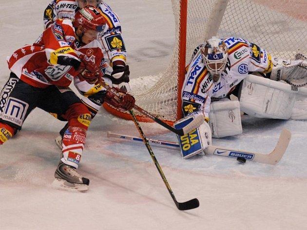 Hokejový zápas HC Moeller Pardubice x HC Sparta Praha
