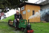 Rosické železniční muzeum připravuje Setkání parkových, zahradních a modelových železnic.