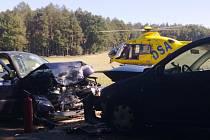 K vážné dopravní nehodě došlo mezi Štěpánovem a Luží.