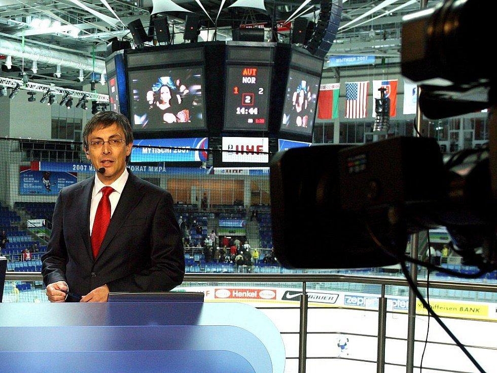 Moderátor Petr Vichnar