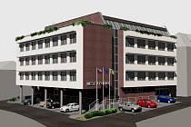 Projekt nové přeloučské radnice