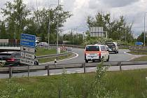 Za polední dva roky se na křižovatce u Opatovic nad Labem stalo 21 nehod.