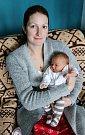 ELIŠKA ŽÁKOVÁ se narodila 1. února. Měřila 48 centimetrů a vážila 3280 gramů. Rodiče jsou Kateřina a Václav.