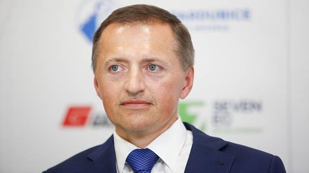 Tisková konference HC Dynamo v pardubické enteria areně - Petr Dědek