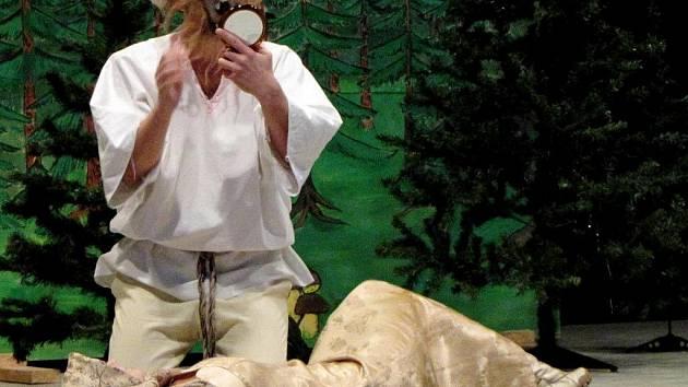 Po dlouhých letech se ve Slepoticích na Holicku opět představili tamní ochotníci - s pohádkou Mrazík.