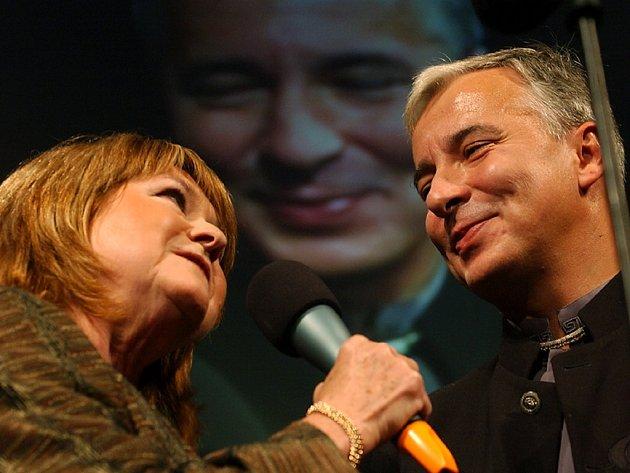 Pavlína Filipovská a Vladislav Beneš