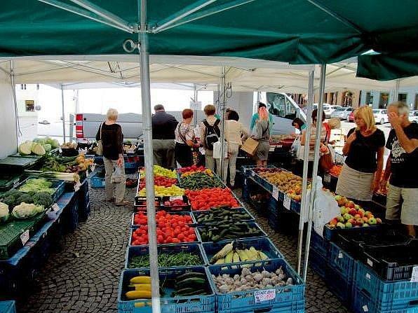 Farmářské trhy. Ilustrační fotografie.
