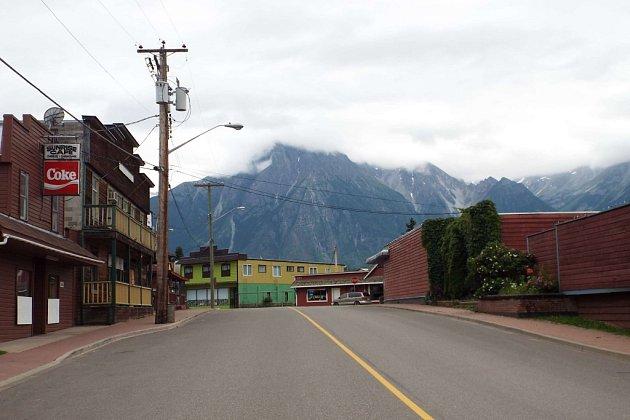 Typické kanadské městečko.