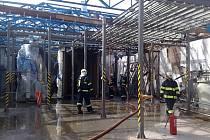 Požár v lakovně způsobil škodu za tři miliony korun