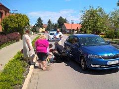 Zraněný cyklista po nehodě nadýchal přes jedno promile alkoholu.
