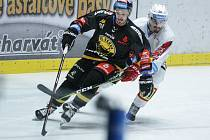 Play out hokejové extraligy: HC Dynamo Pardubice - HC Verva Litvínov.