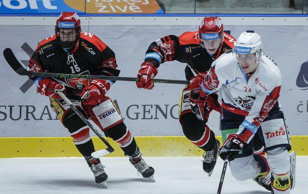 Hokejová extraliga: HC Dynamo Pardubice - Mountfield HK.