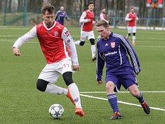 Fotbalová příprava: FK Pardubice - FK Mohelnice.