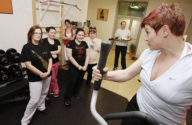Manažerka Vektor Wellness Clubu Gabriela Kristlová