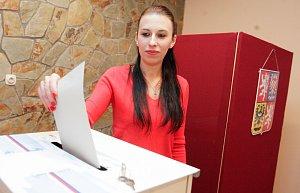 1. kolo prezidentských voleb v Holotíně