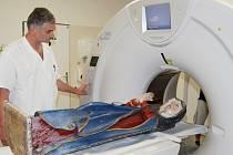 Nemocnice přijala dřevěnou pacientku