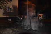 Požární vozy před pardubickým Kauflandem naštěstí zasahovat nemuseli. Šlo o planý poplach.