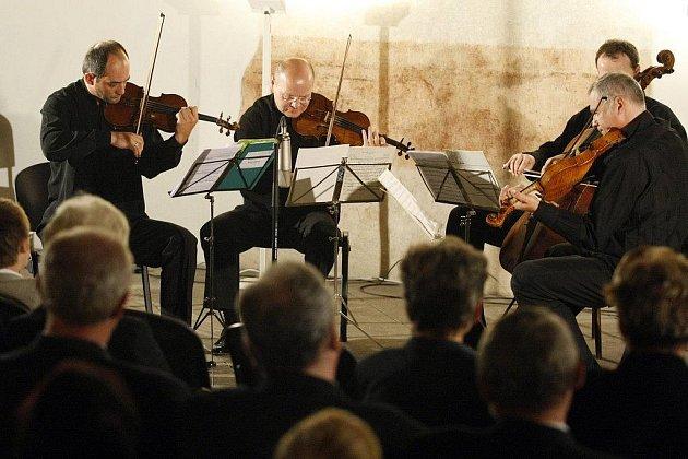 Talichovo kvarteto zahrálo v sobotu na zámku například skladby Leoše Janáčka či Dmitrije Šostakoviče.