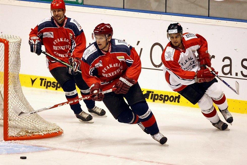 Benefice Oty Janeckého přilákala do Pardubic výběr hokejových hvězd
