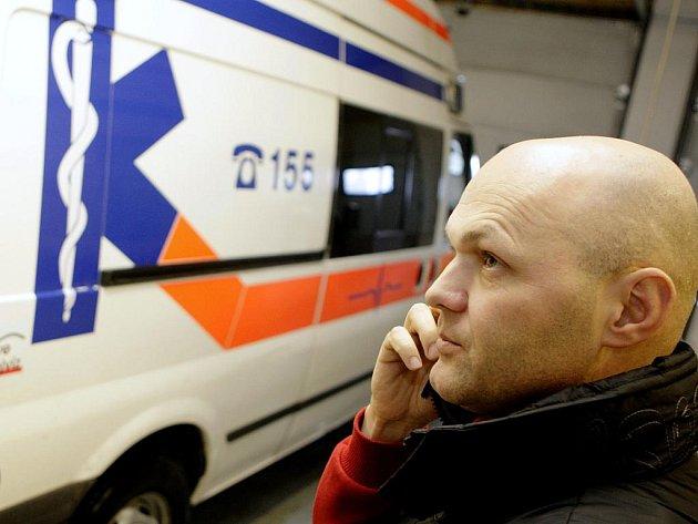 Marek Obrtel na post ředitele Zdravotnické záchranné služby Pardubického kraje rezignoval počátkem února.