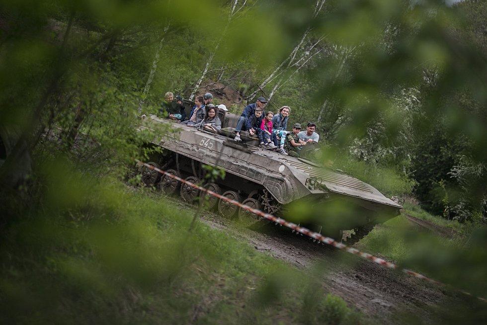11. ročník akce Tank power show. Návštěvníky čekal den plný zábavy, soutěží, her, zážitků a adrenalinových překvapení.