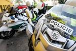 Jedenáct policejních motocyklů ze čtyř krajů bylo o víkendu v akci na silnicích v Pardubickém kraji.