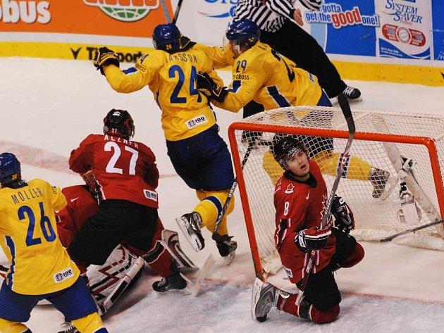 Finále MS 20 Švédsko - Kanada