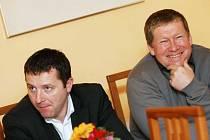 Michal Koláček a Miroslav Petráň