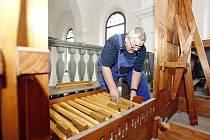 Staré varhany z Horních Ředic budou znovu hrát.