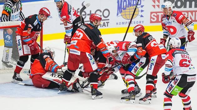 Hokejová extraliga: Mountfield HK - HC Dynamo Pardubice
