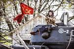 Oslavy 70 let osvobození Brna a Ořechova.