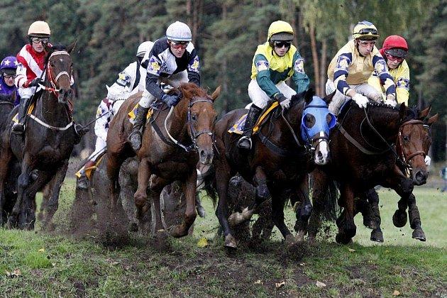 119. Velkou pardubickou běželo 25 koní. Zvítězil Tiumen v sedle s Josefem Váňou