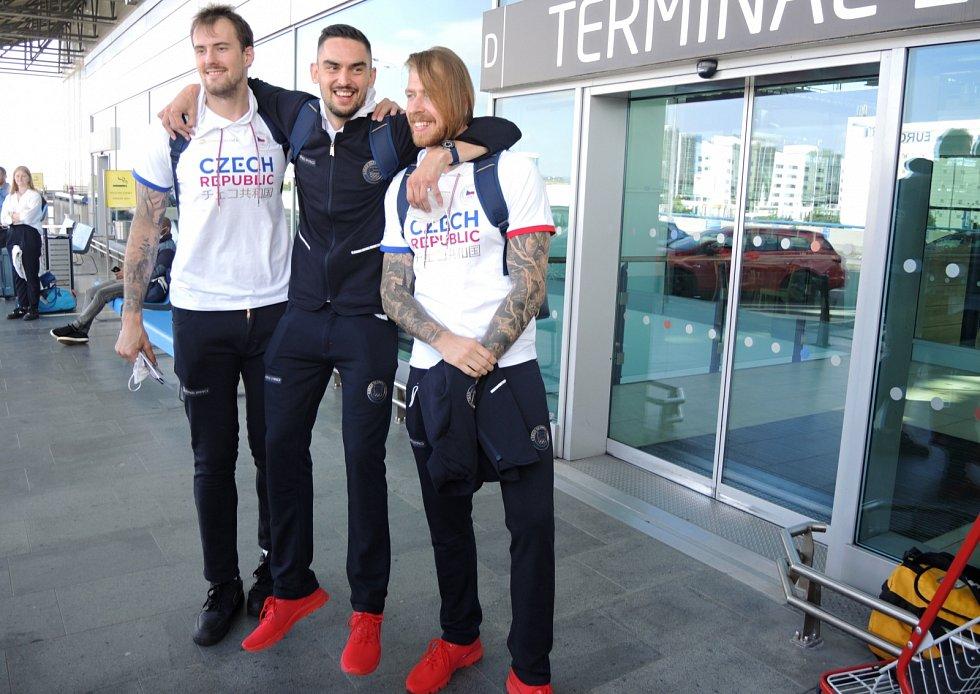 Hvězdné trio: zleva Ondřej Balvín, Tomáš Satoranský a Patrik Auda