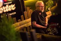 Jan Chicago Novák v Pardubickém letním kině.