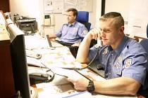 Operační městské policie Pavel Leuchter sloužil letos na Silvestra již po desáté, stejně jako na Štědrý den.