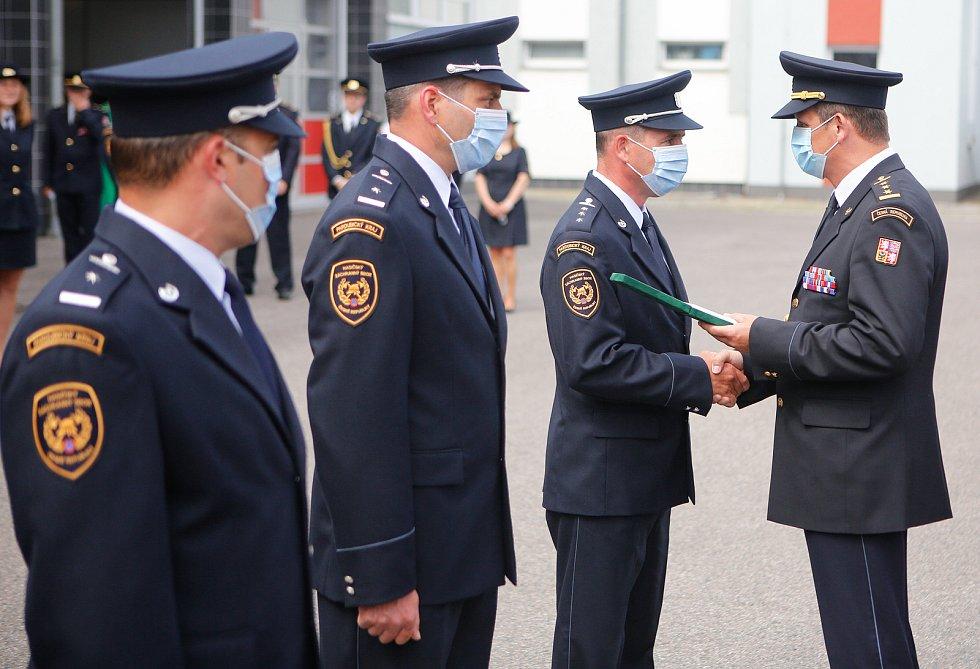 Ve středu 16. června 2021, se na centrální stanici v Pardubicích uskutečnilo slavnostní předávání medailí. Oceněni byli profesionální hasiči medailí Za věrnost I., II. a III. stupně. Medaile jsou udělovány na základě rozhodnutí generálního ředitele Hasičs
