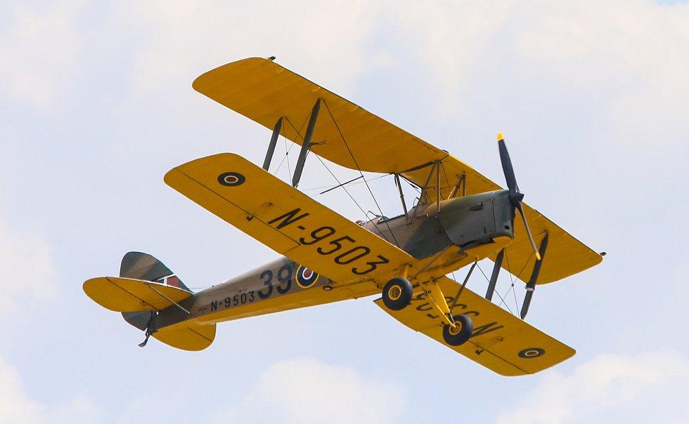 Letecká show Aviatická pouť v Pardubicích